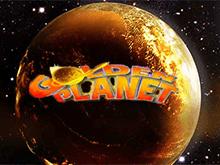 Платная игра на автомате Golden Planet