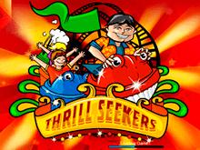 Делайте ставки, играйте на реальные деньги в автомат Thrill Seekers